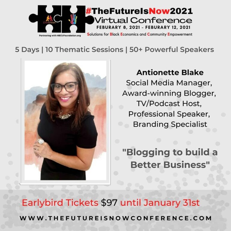 The Future is Now Conference 2021