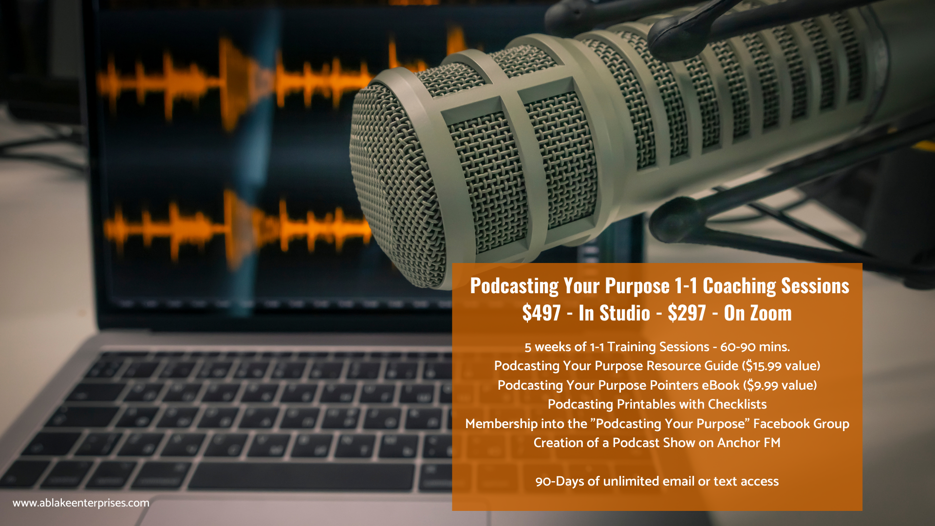 Podcasting Coaching Sessions